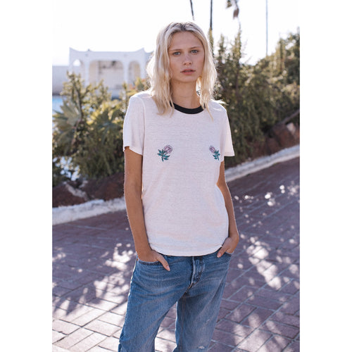 Auguste - super bloom tee natural