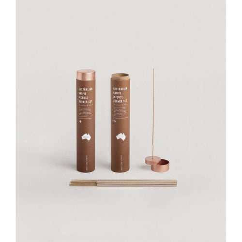 Addition Studio - incense burner set eucalyptus & acaccia