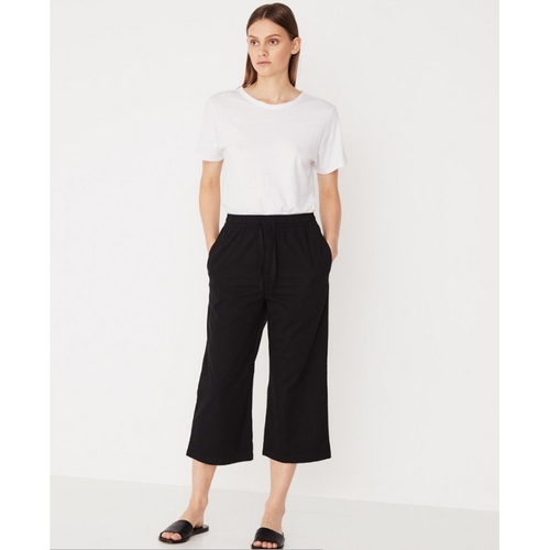 Assembly Label- straight leg pant black