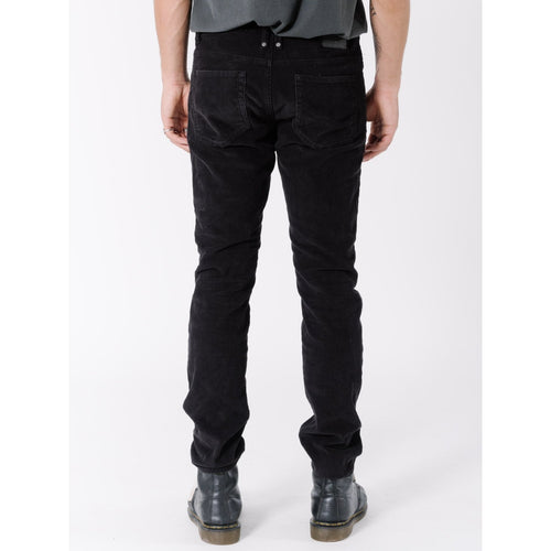 Thrills Co. - bones corduroy jean overdyed black