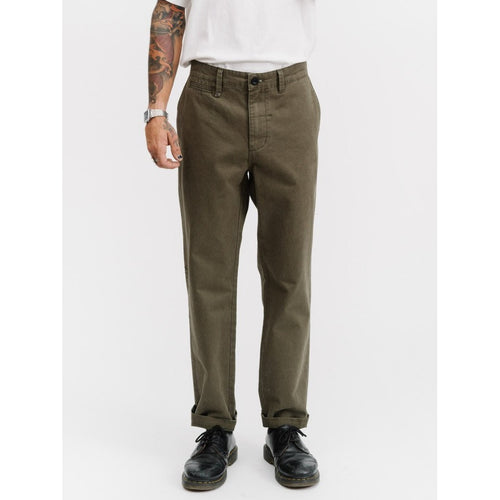 Thrills Co - base chino army green
