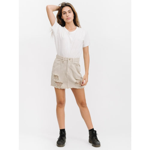 Thrills Co. - patti skirt vintage bone