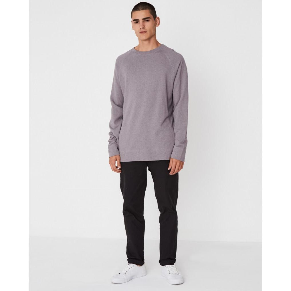 Assembly Label - ocean lightweight fleece stone marle