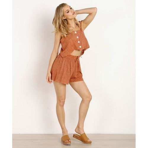 Rue Stiic - pier top burnt orange