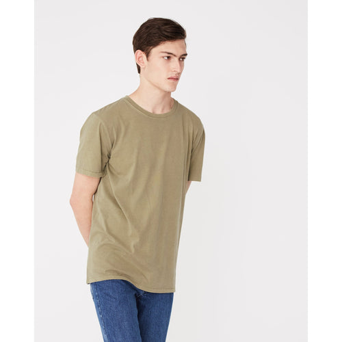 Assembly Label- standard tee olive