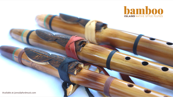 Bamboo Island Native American-style flutes