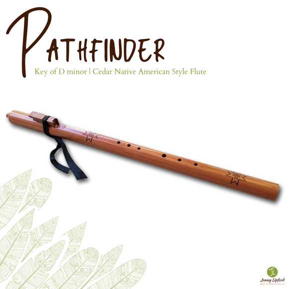 Pathfinder Native American Style Flute [D minor]