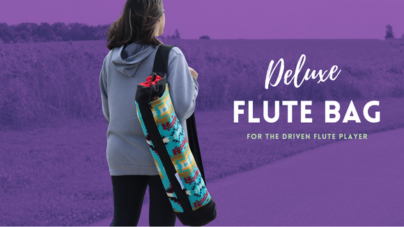 Deluxe Flute Bag for Native American Flutes