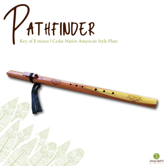 Pathfinder Native American Style Flute [E minor]