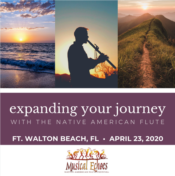CANCELED: Expanding Your Journey with the Native American Flute