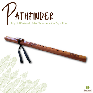 Pathfinder Native American Style Flute [F# minor]