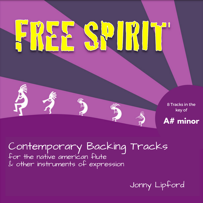Free Spirit (A# minor) Backing Tracks [Digital Download]