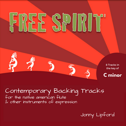 Free Spirit (C minor) Backing Tracks [Digital Download]