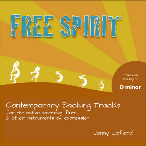 Free Spirit (D minor) Backing Tracks [Digital Download]