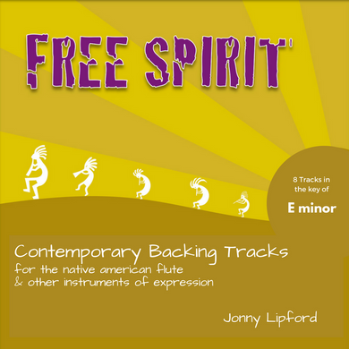 Free Spirit (E minor) Backing Tracks [Digital Download]