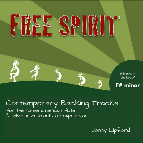 Free Spirit (F# minor) Backing Tracks [Digital Download]