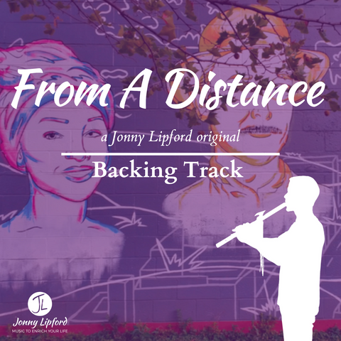 From A Distance Backing Track [Digital Download]