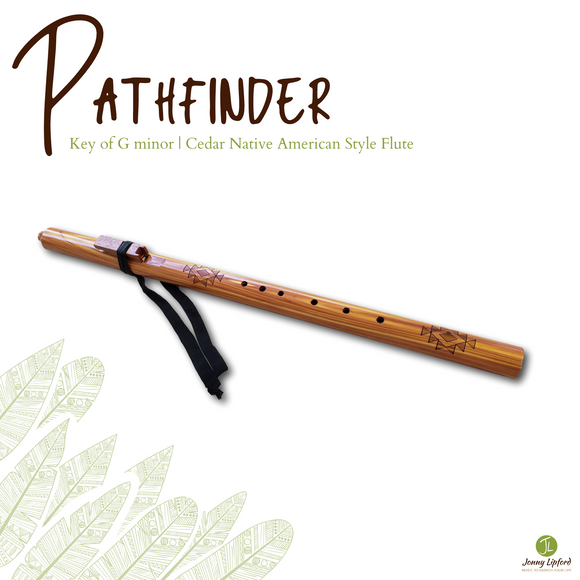 Pathfinder Native American Style Flute [G minor]