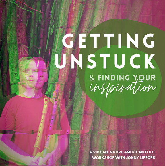 Virtual Workshop: Getting Unstuck & Finding Your Inspiration