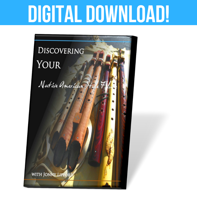 DIGITAL: Discovering Your Native American-style Flute DVD