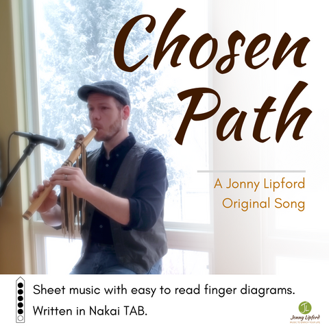 Chosen Path - Sheet Music for Native American Flute [PDF]