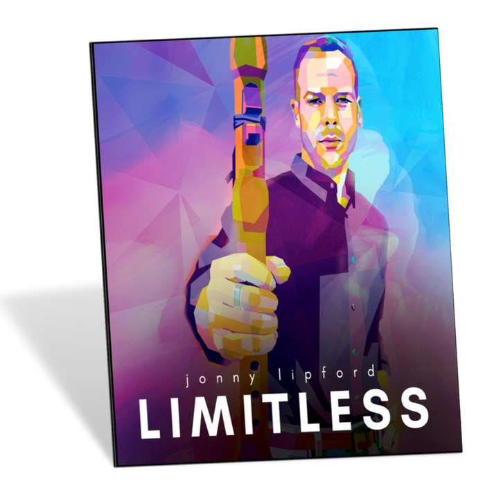 Jonny LIpford's cover for Limitless: a recording of cover songs for the Native American Flute