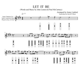 Let It Be - Sheet Music for Native American Flute [PDF]