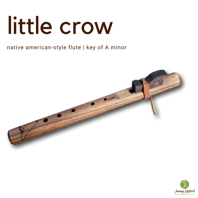 Little Crow Native American Style Flute [A minor]