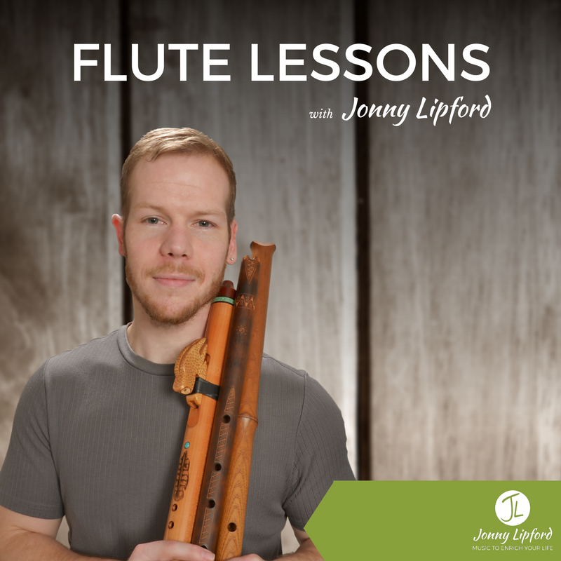 (4) Half Hour Native Flute Lesson with Jonny Lipford