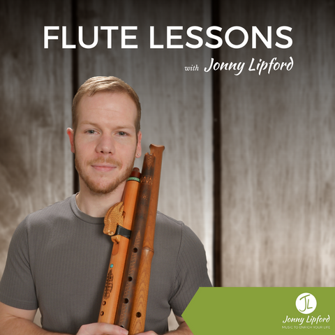 (1) Half Hour Native Flute Lesson with Jonny Lipford