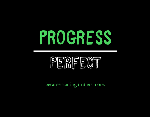 Progress Over Perfect [Unisex Tee]