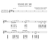 Nakai Tab for Stand By Me by Jonny Lipford. Native american flute sheet music.