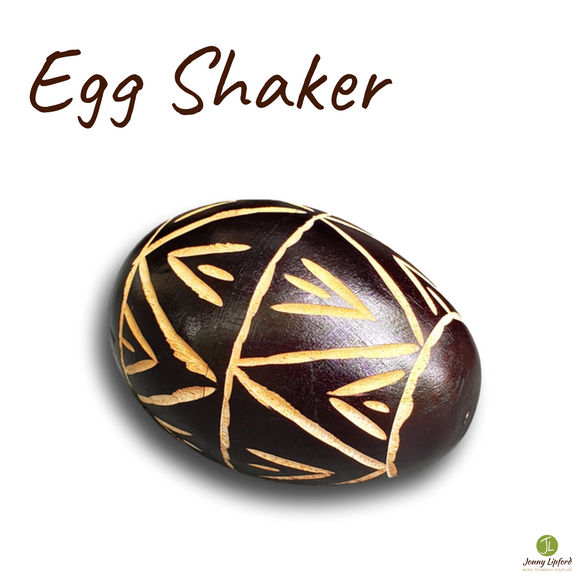 Carved Egg Shaker