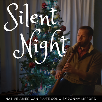 Native American flute Silent Night