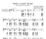 With A Light Heart - Sheet Music for Native American Flute [PDF]