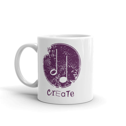 Create Music Coffee Mug
