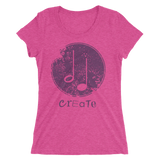 Create Music Ladies' short sleeve t-shirt