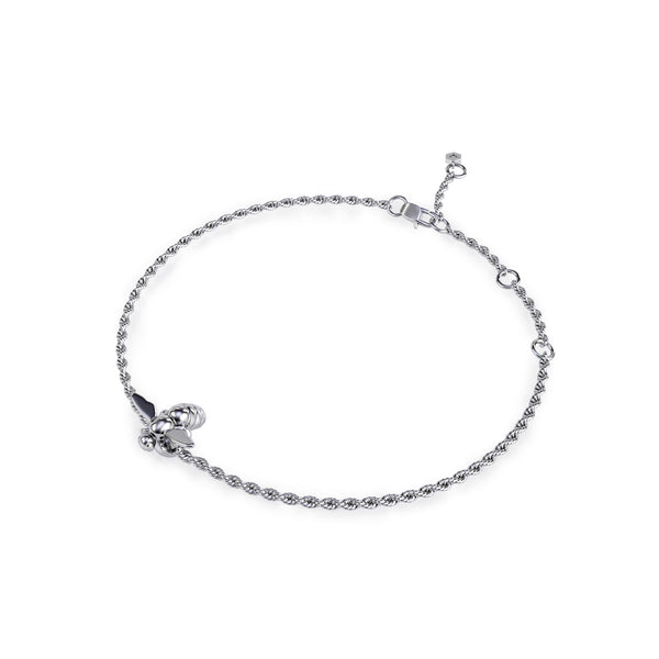 HUG ME CLOSE BRACELET RHODIUM