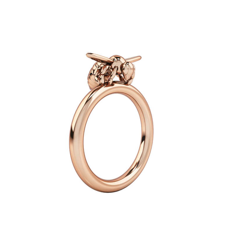 1986 BEE 93° Ready To Fly Ring in Rose Gold