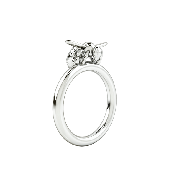 1986 BEE 93° Ready To Fly Ring in Rhodium
