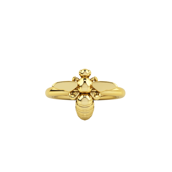 1986 BEE 93° Ready To Fly Ring in Yellow Gold