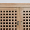 large rattan  buffet cabinet sideboards corcovado furniture auckland christchurch wellington new zealand