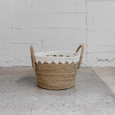 corcovado laundry basket woven basket homewares nz store