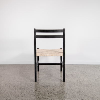 Palk Chair (Black and Natural)