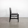 Palk Chair (Black on Black)