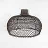 Diamond Rattan Pendant (Blackwash) (L)