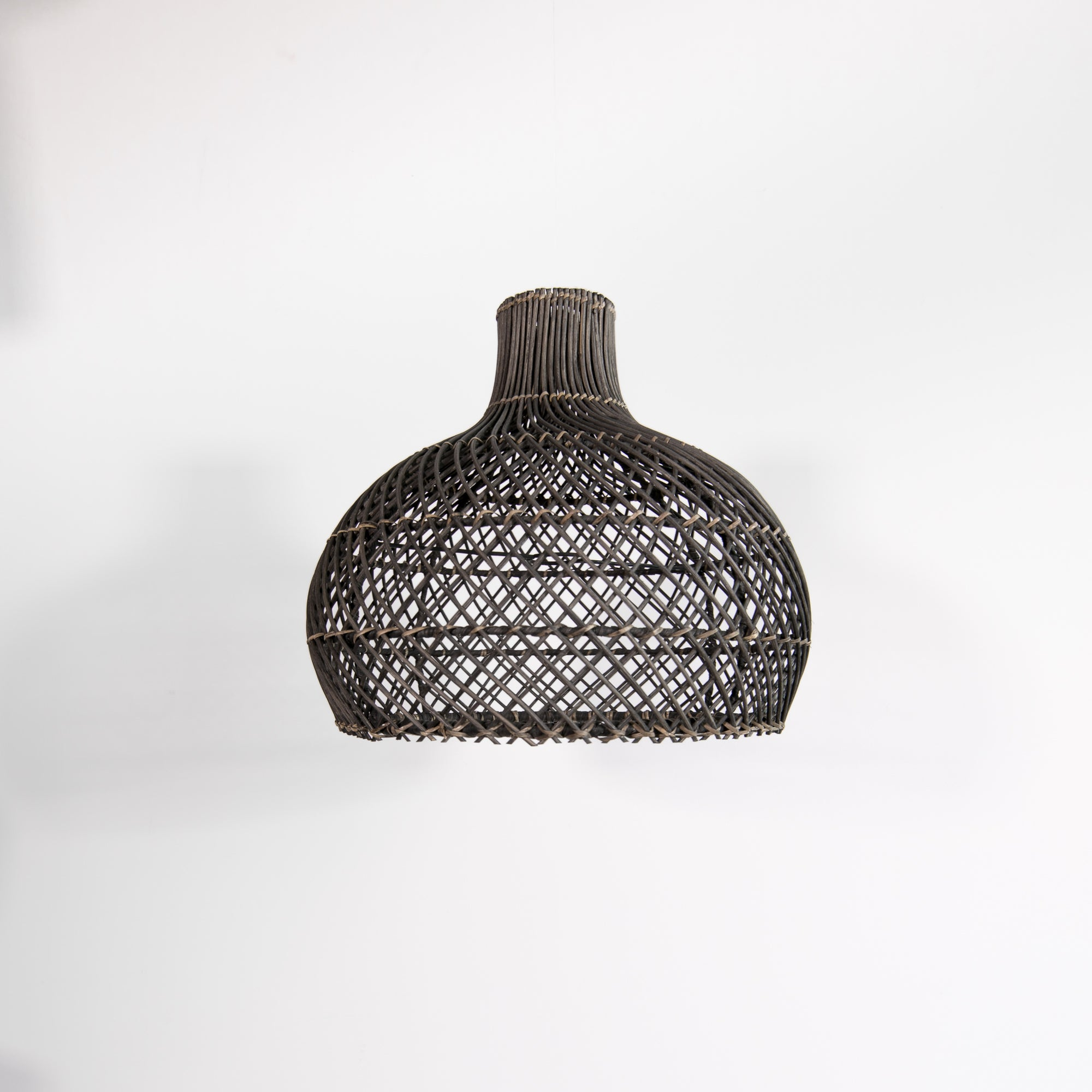 Diamond Rattan Pendant (Blackwash) (S)