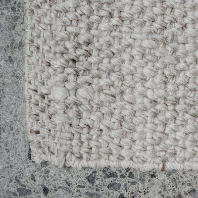 NZ Wool Rug (Pebble) 160 x 230
