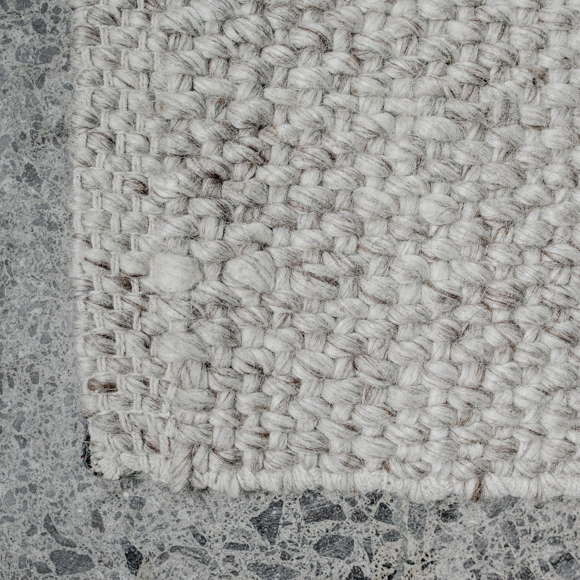 NZ Wool Rug (Pebble)