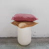 Clay Linen Cushion and feather inner